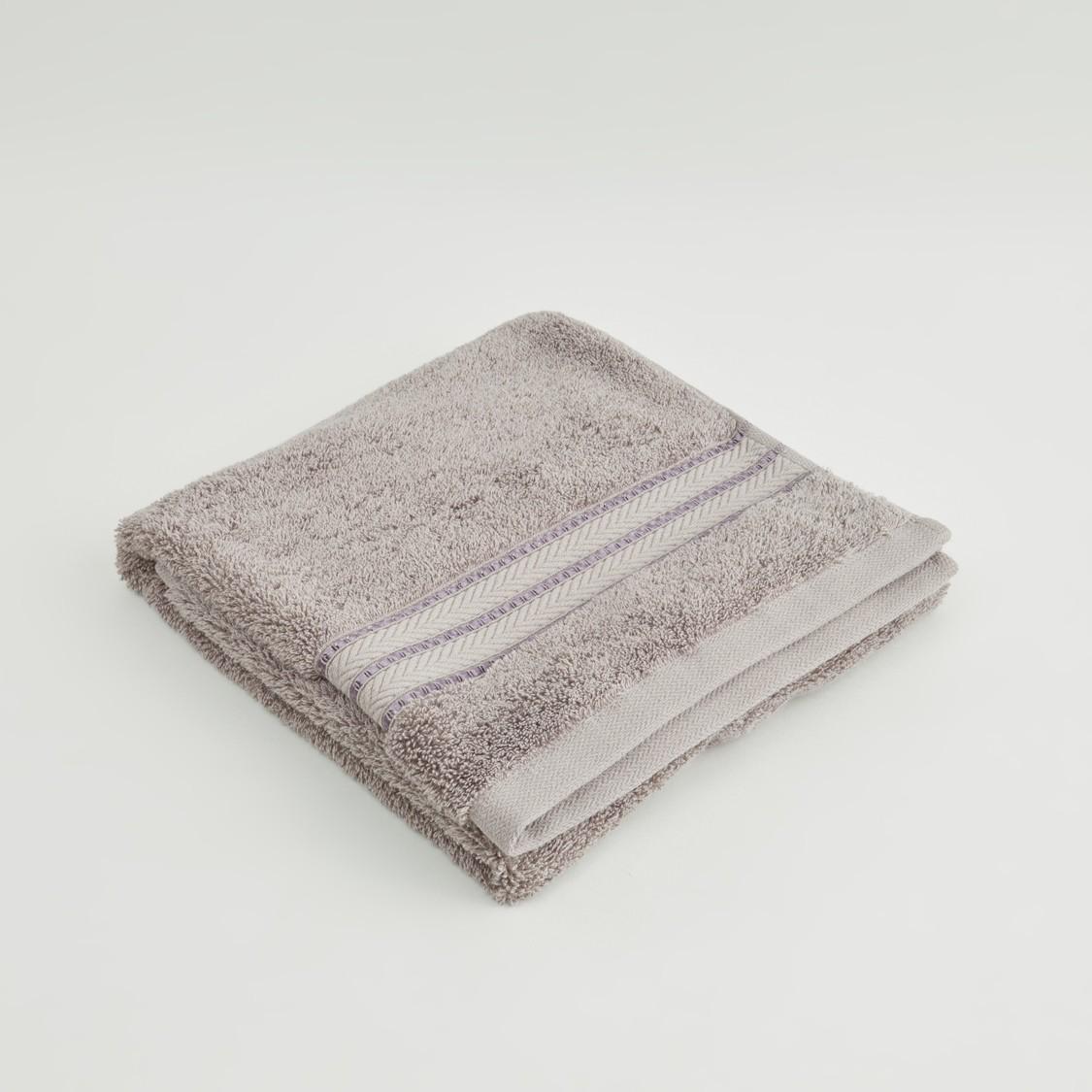 Textured Egyptian Cotton Hand Towel - 80x50 cms
