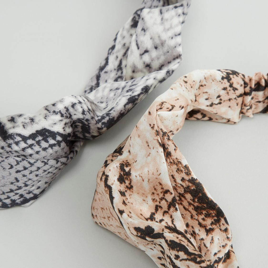 Set of 2 - Printed Headband