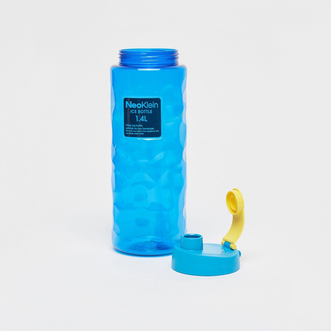 Textured Water Bottle with Cap