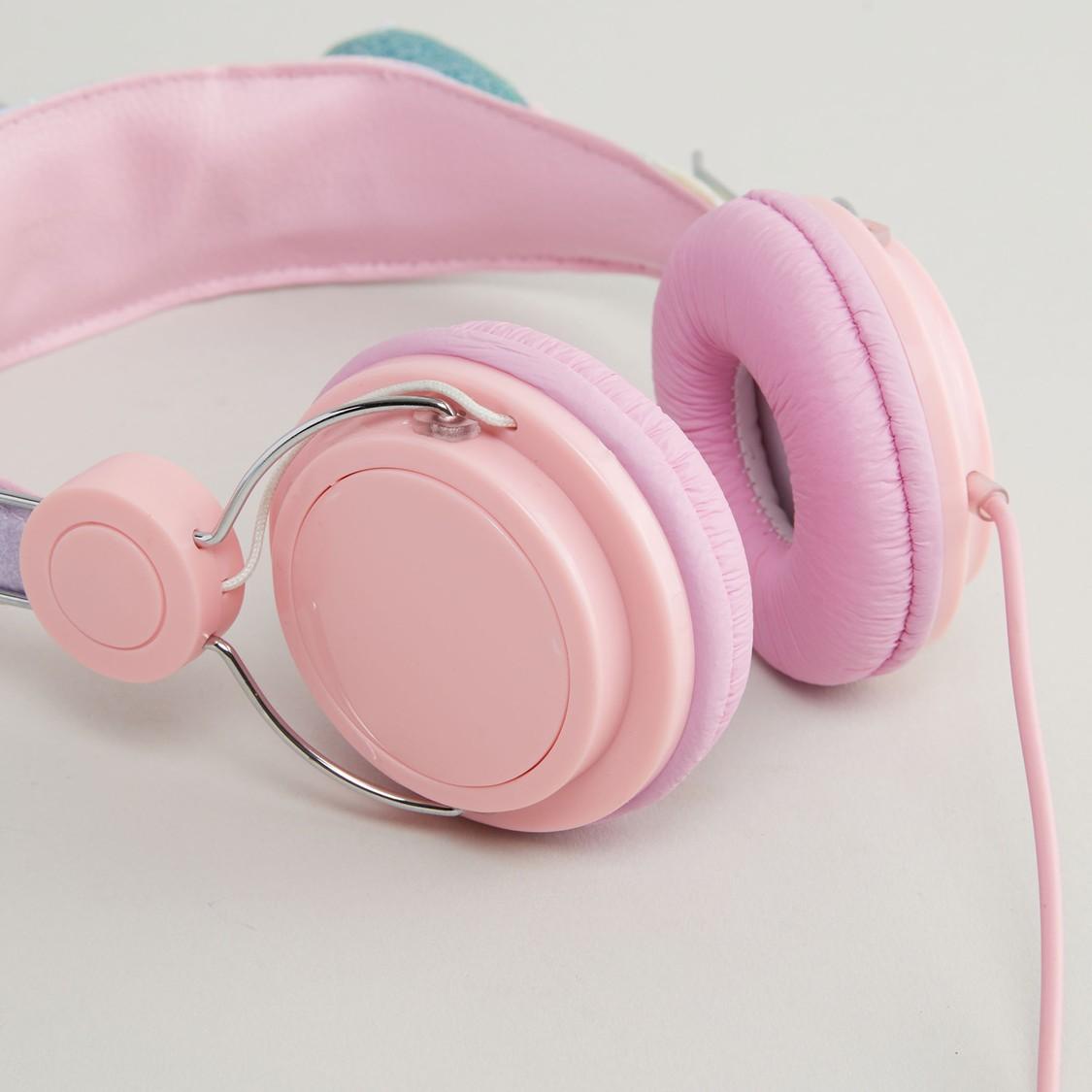 Unicorn Applique Detail Headphones