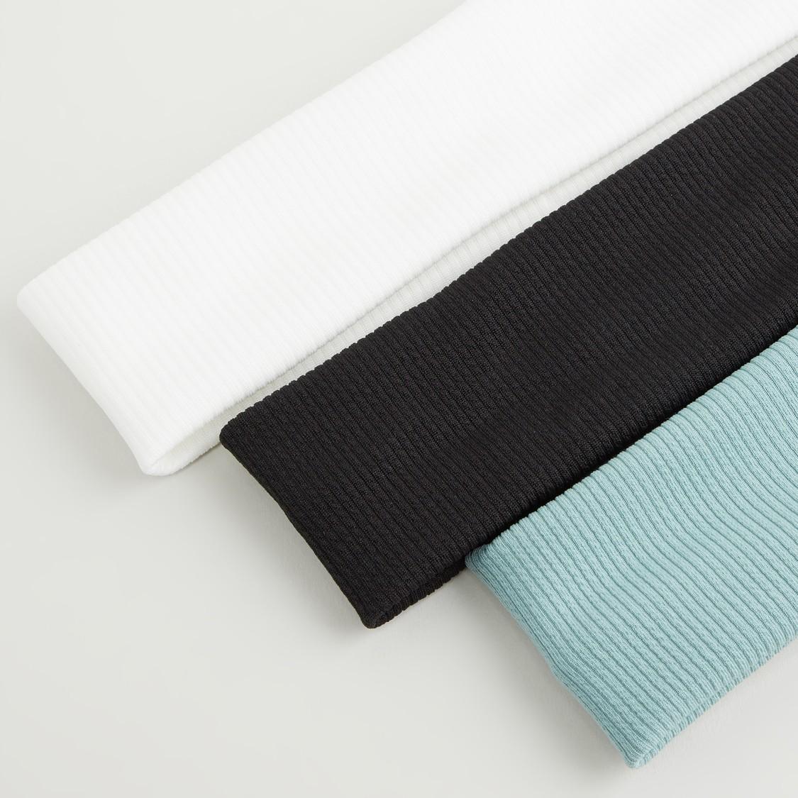 Set of 3 - Elasticated Hairband