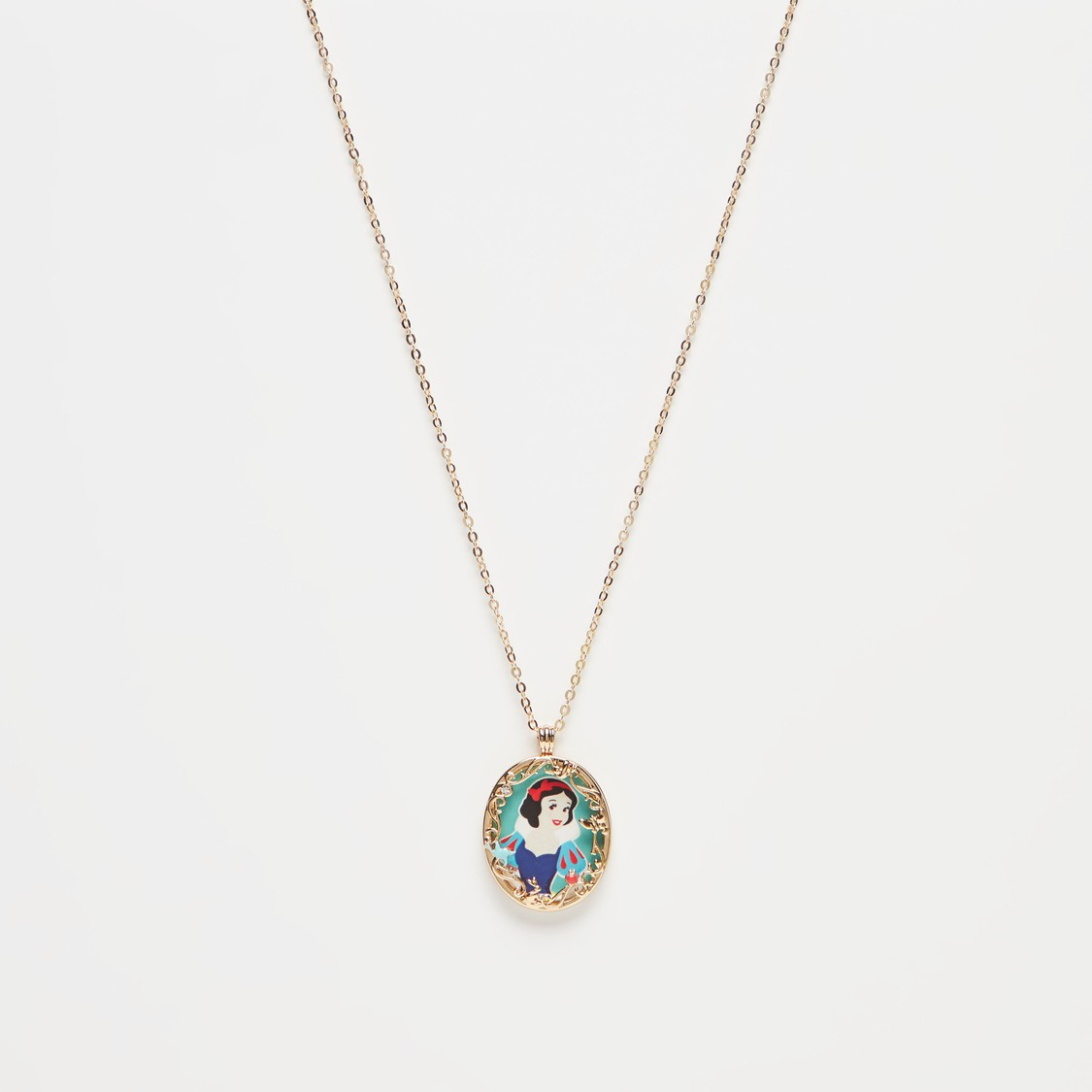 Alice in Wonderland Pendant Necklace with Lobster Clasp