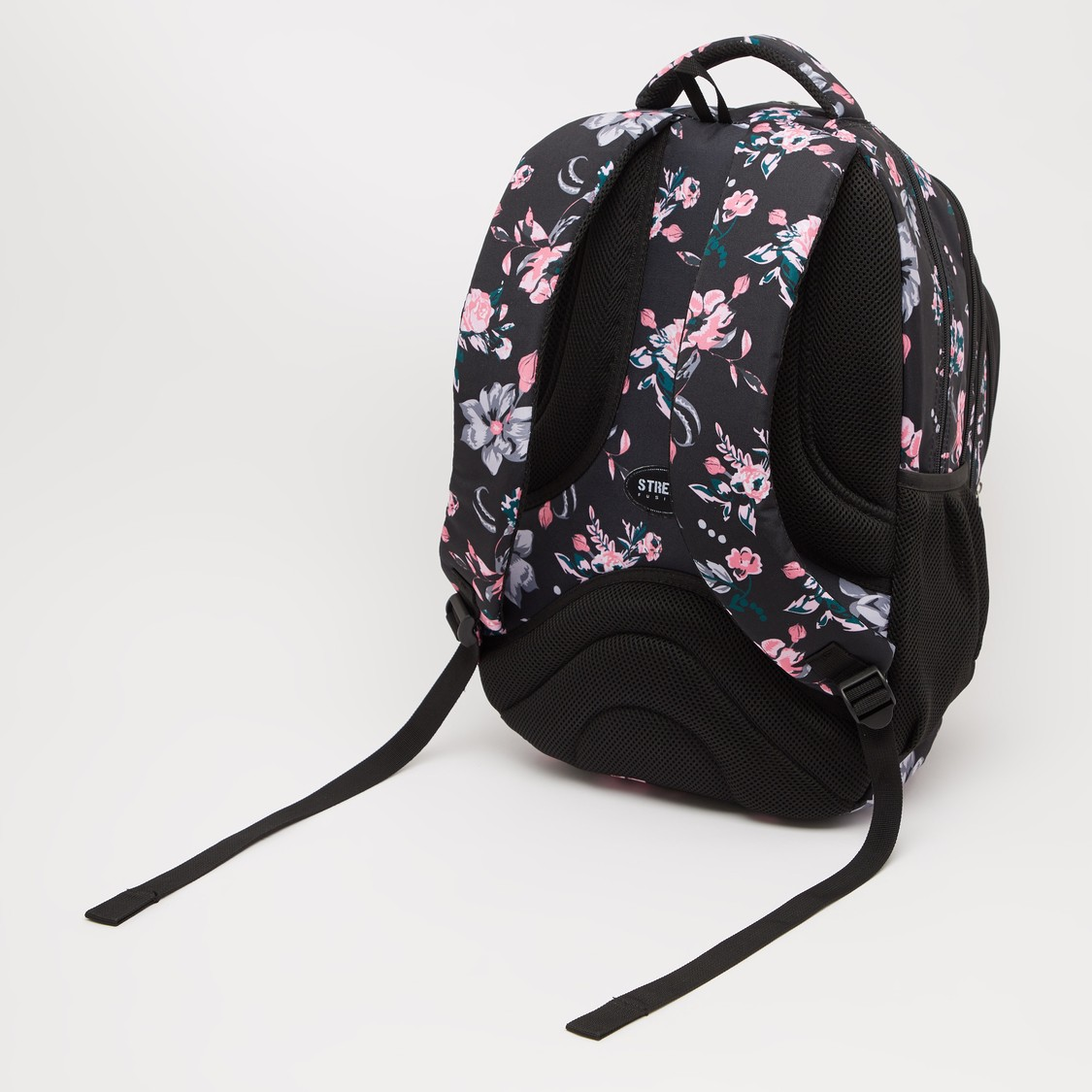 Printed Backpack with Adjustable Shoulder Straps - 19 Inches
