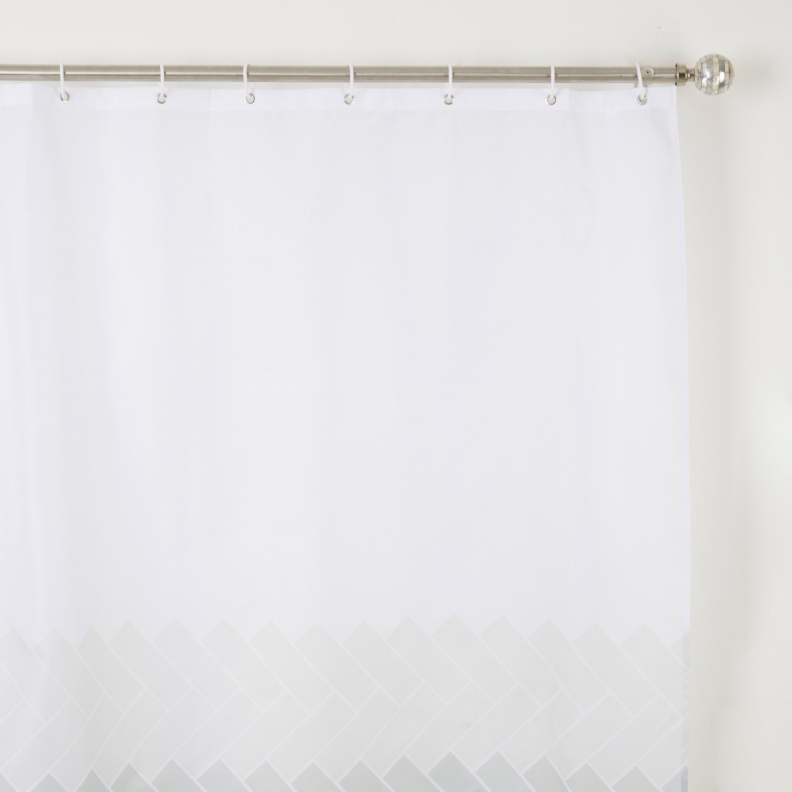 Printed Shower Curtain - 180x180 cms