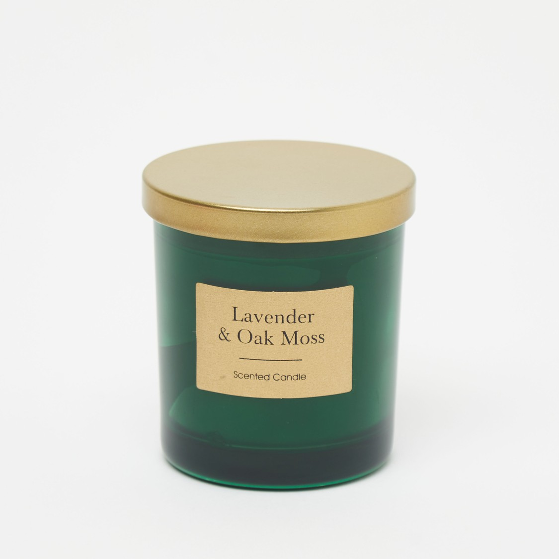 Lavender and Oak Moss Scented Jar Candle