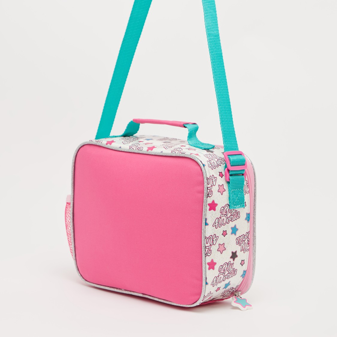 L.O.L. Surprise! Print Lunch Bag with Adjustable Strap and Zip Closure