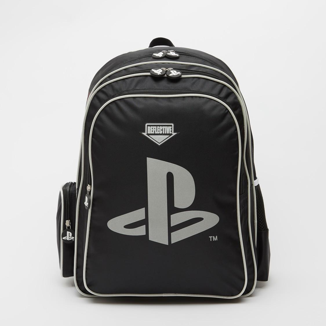 PlayStation Print Backpack with Adjustable Shoulder Straps - 18 Inches