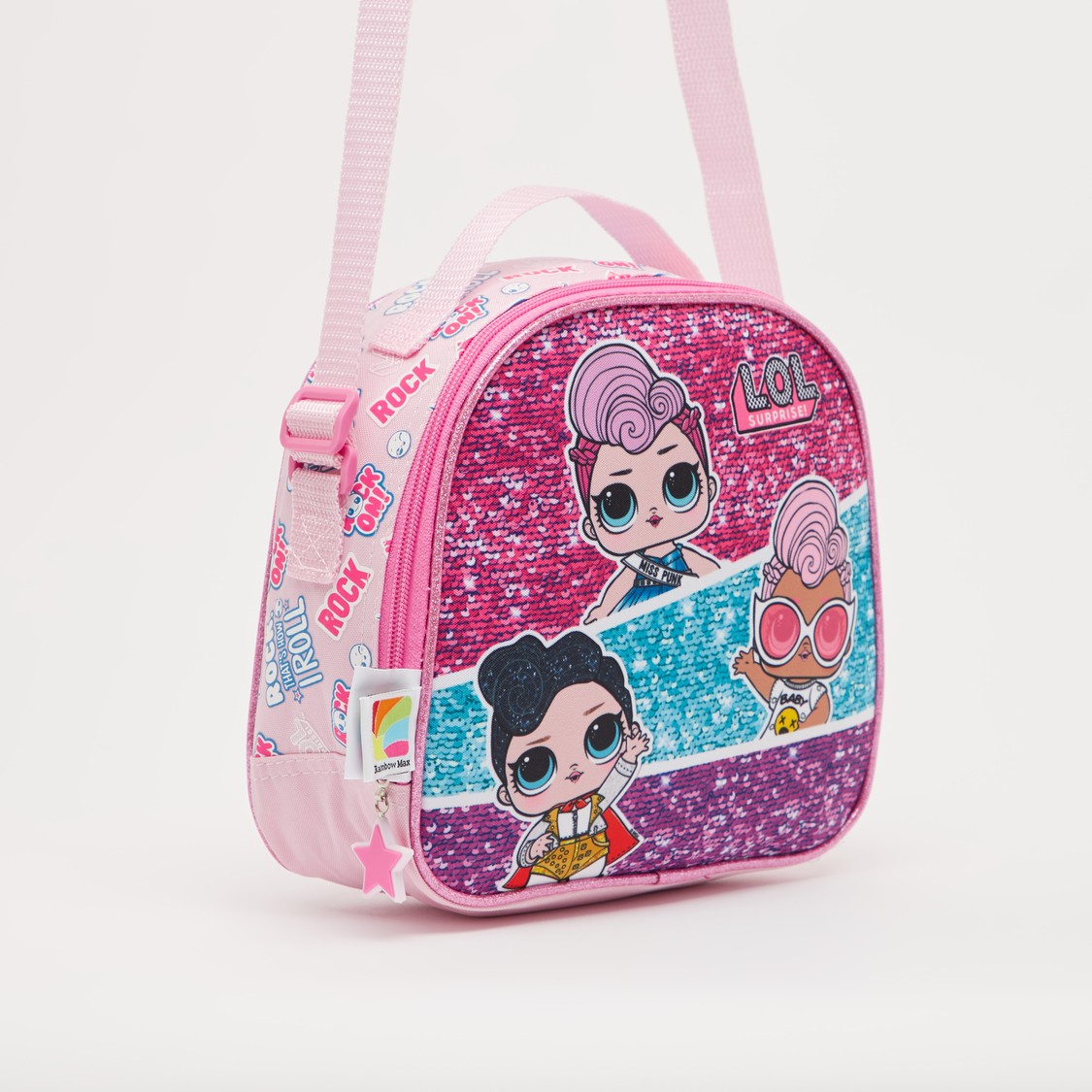 L.O.L. Surprise! Sequin Detail Lunch Bag