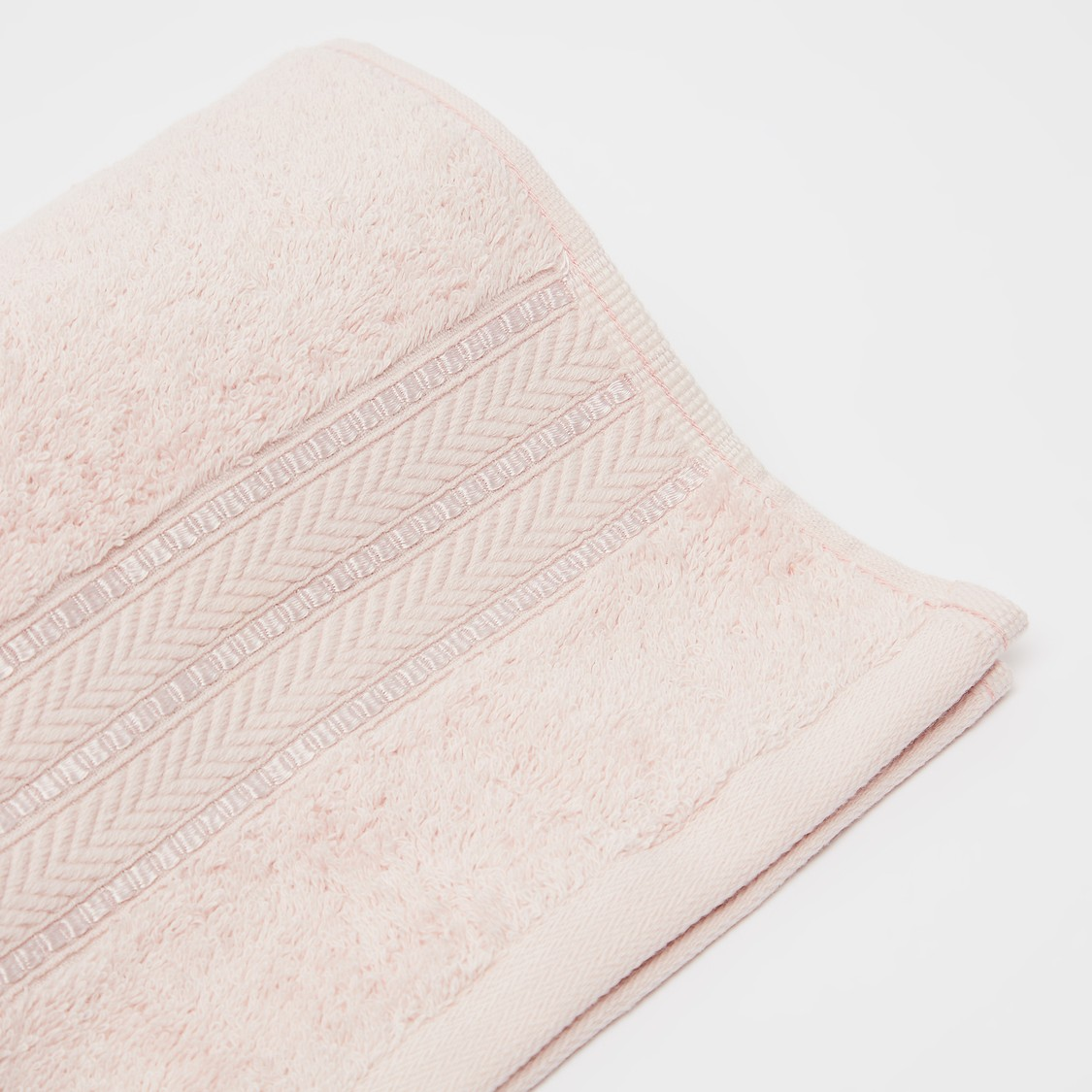 Textured Egyptian Cotton Hand Towel - 80x50 cms