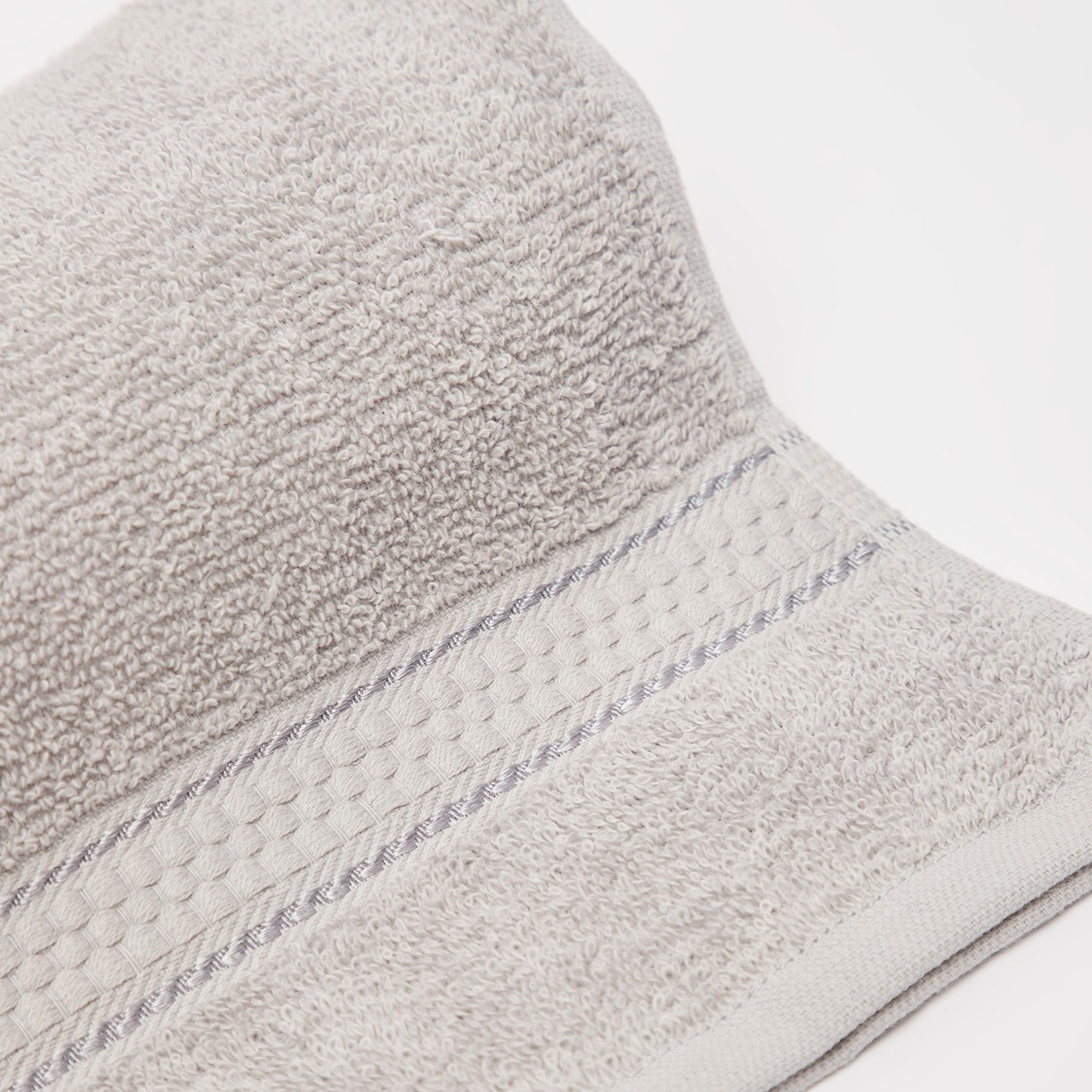 Textured Hand Towel - 80x50 cms