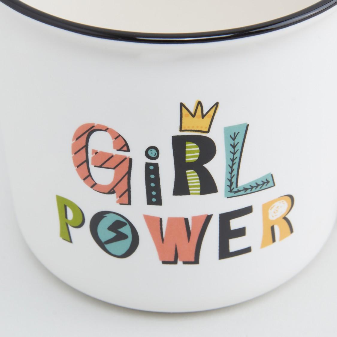 Printed Mug with Contrasting Rim