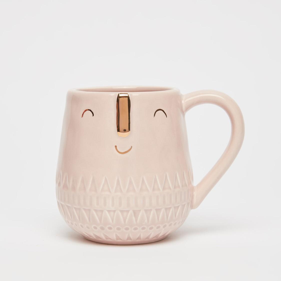 Face Print Mug with Handle