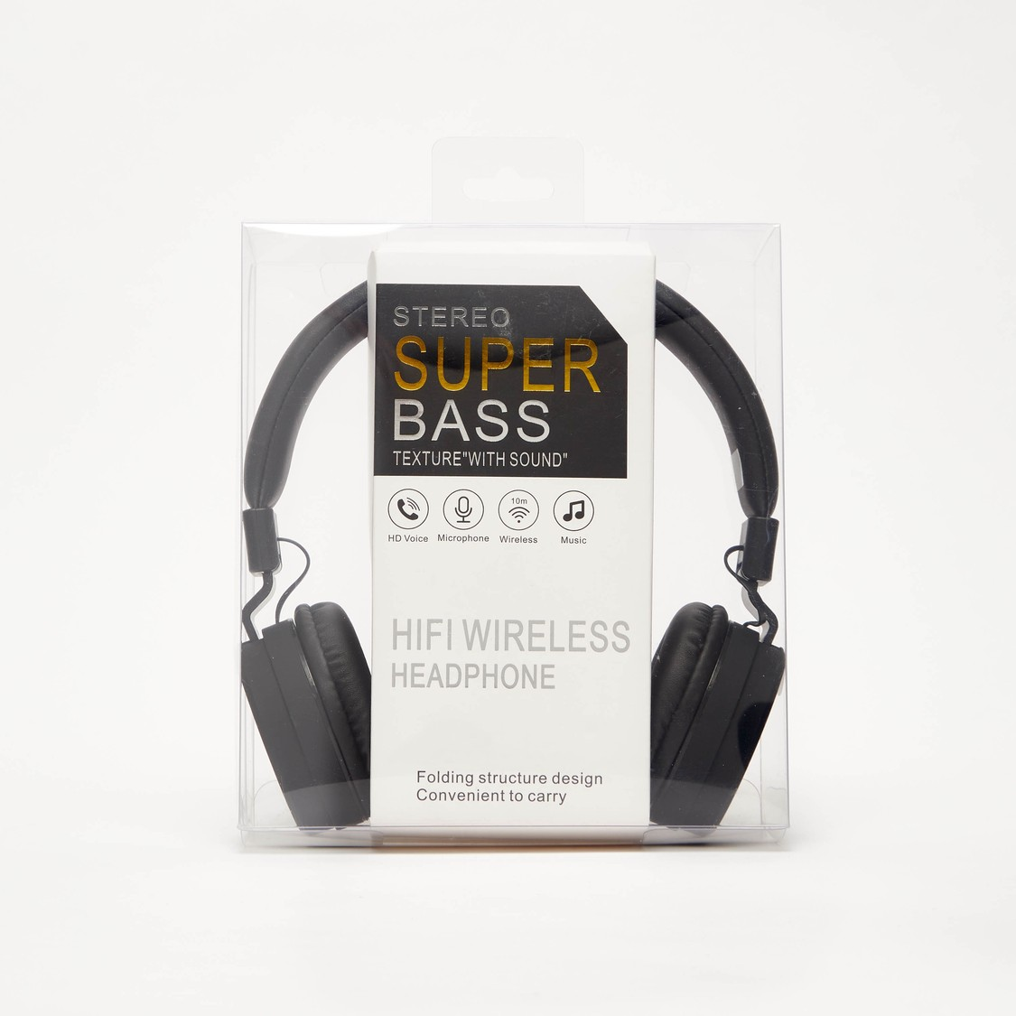 Stereo Super Bass Bluetooth Headphones