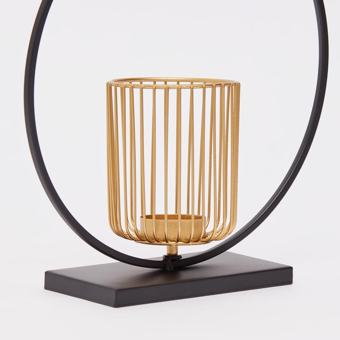 Decorative Candle Holder - 24x8x25 cms