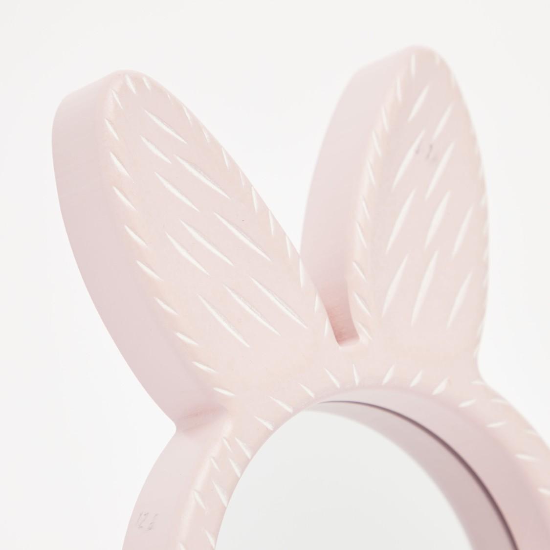 Bunny Applique Detail Mirror