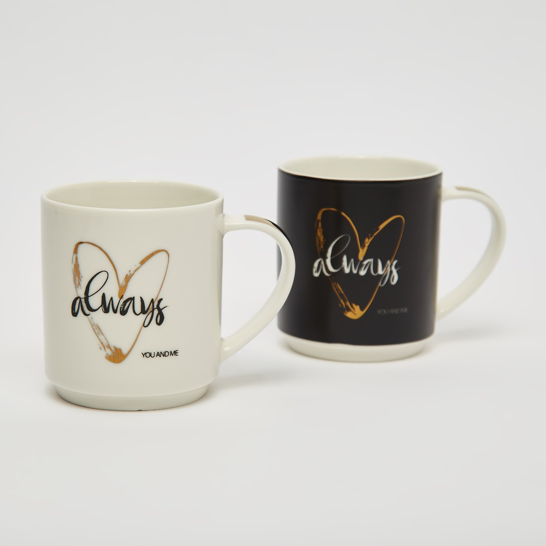 Set of 2 - Printed Mugs