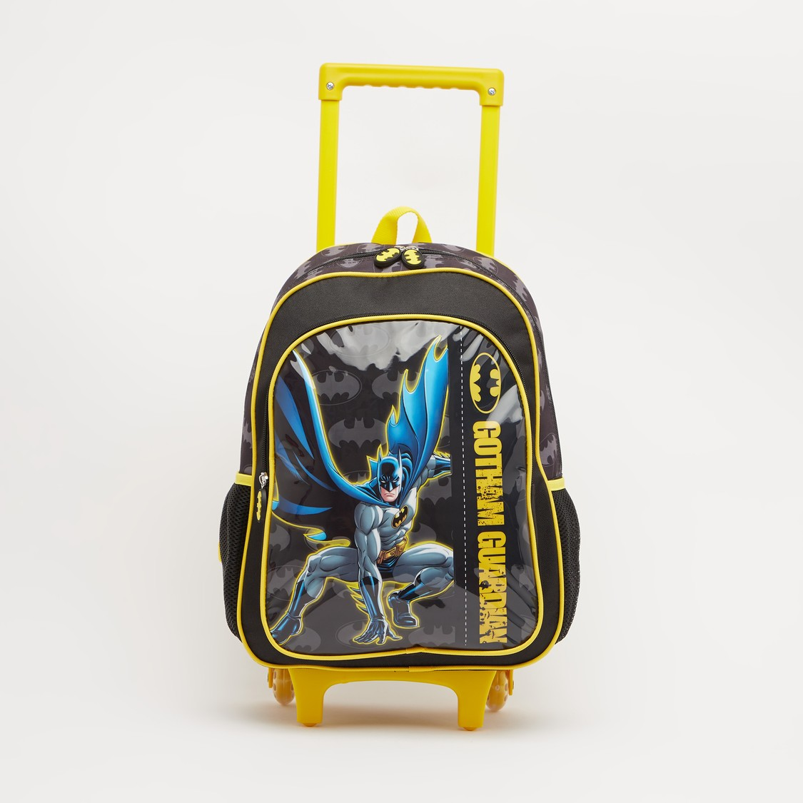 Batman Print 5-Piece Trolley Backpack Set - 16 Inches