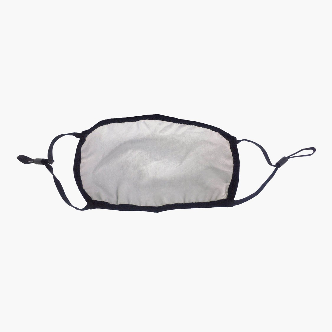Scatter Dots Print Reflective Mask with Adjustable Straps