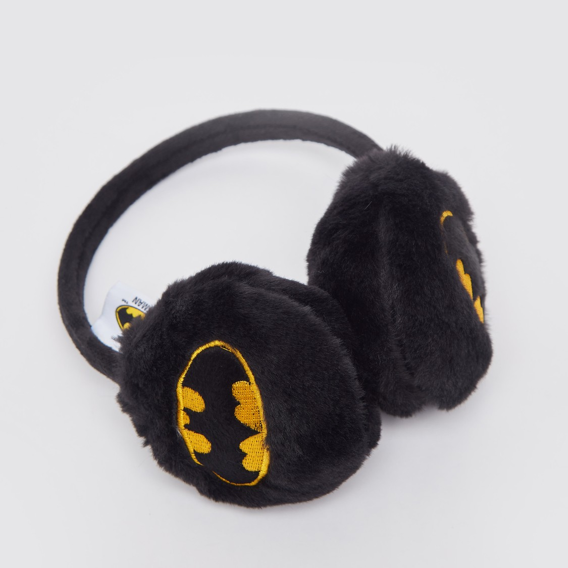 غطاء للأذنين بتصميم شعار باتمان