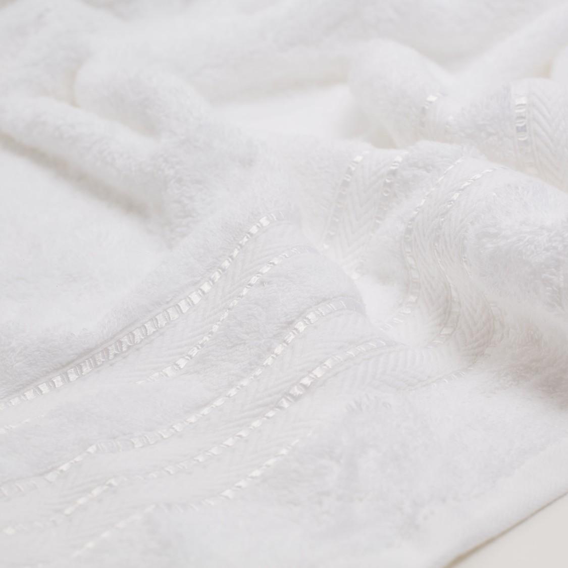 Textured Egyptian Cotton Bath Sheet - 150x90 cms