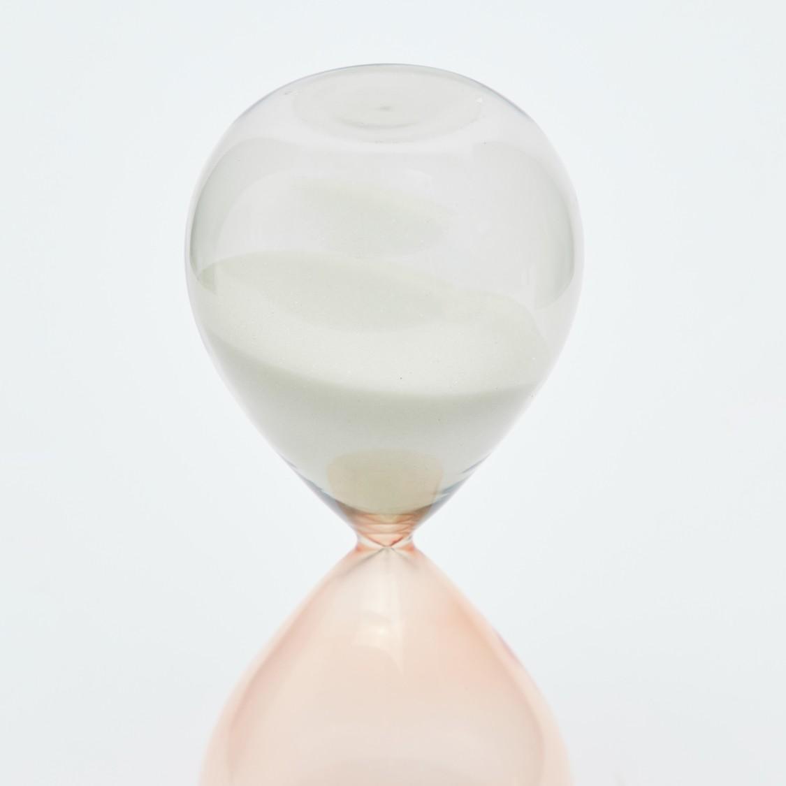 Dual Tone Hourglass Decor