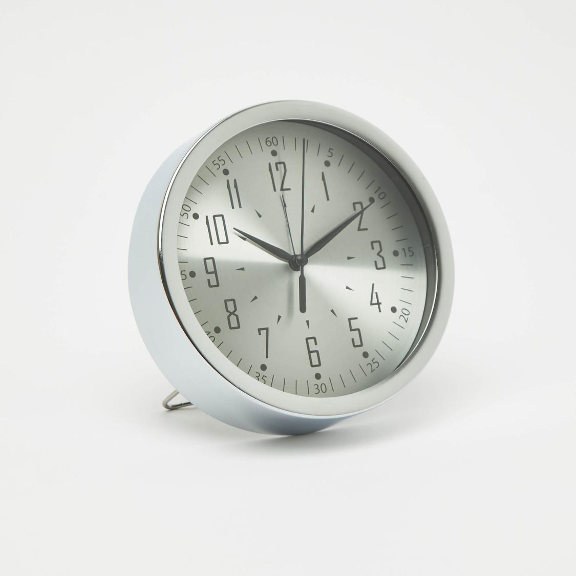 Round Analog Table Clock