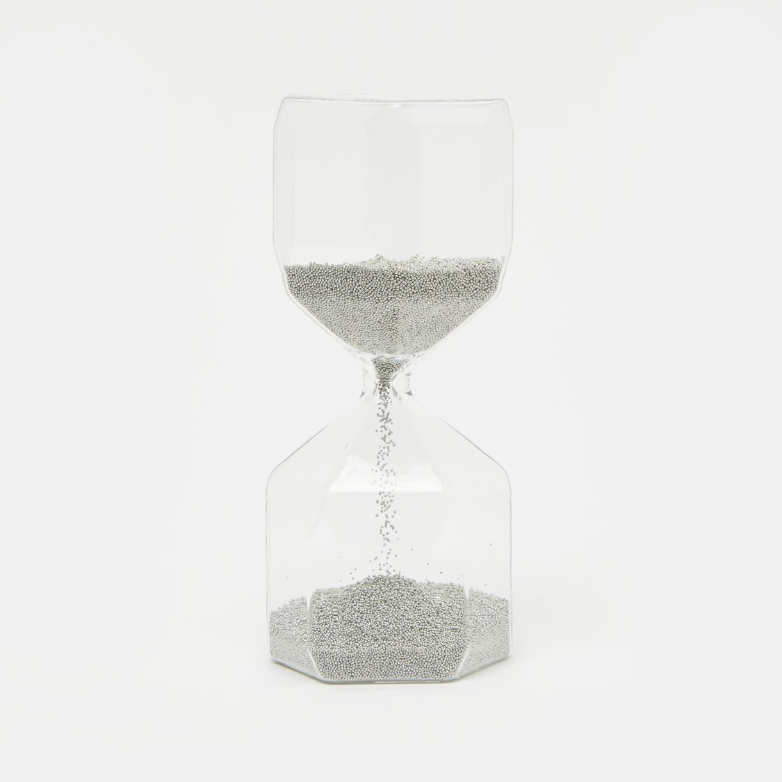 Clear Decorative Hourglass