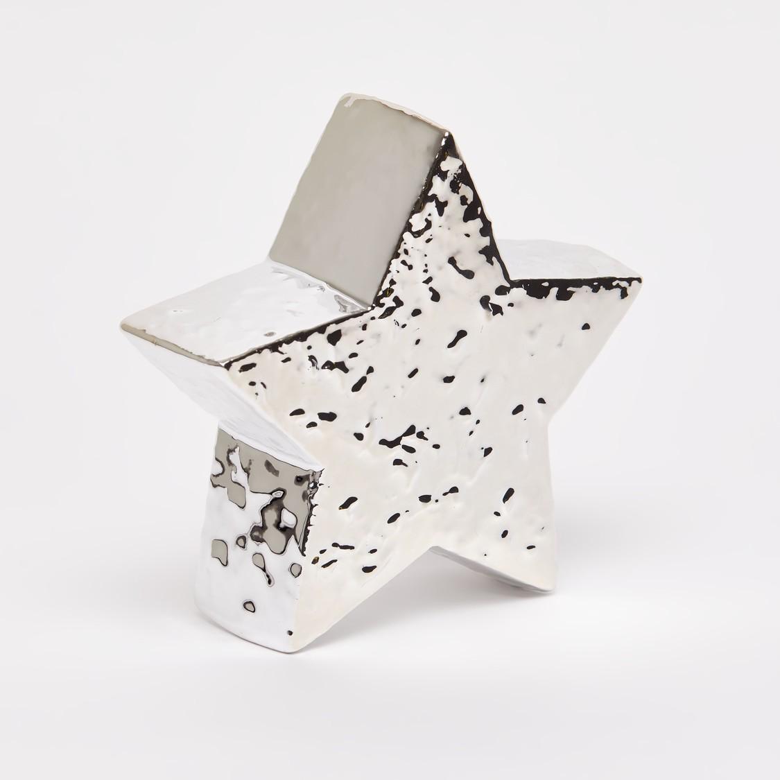 قطعة ديكور بتصميم نجمة