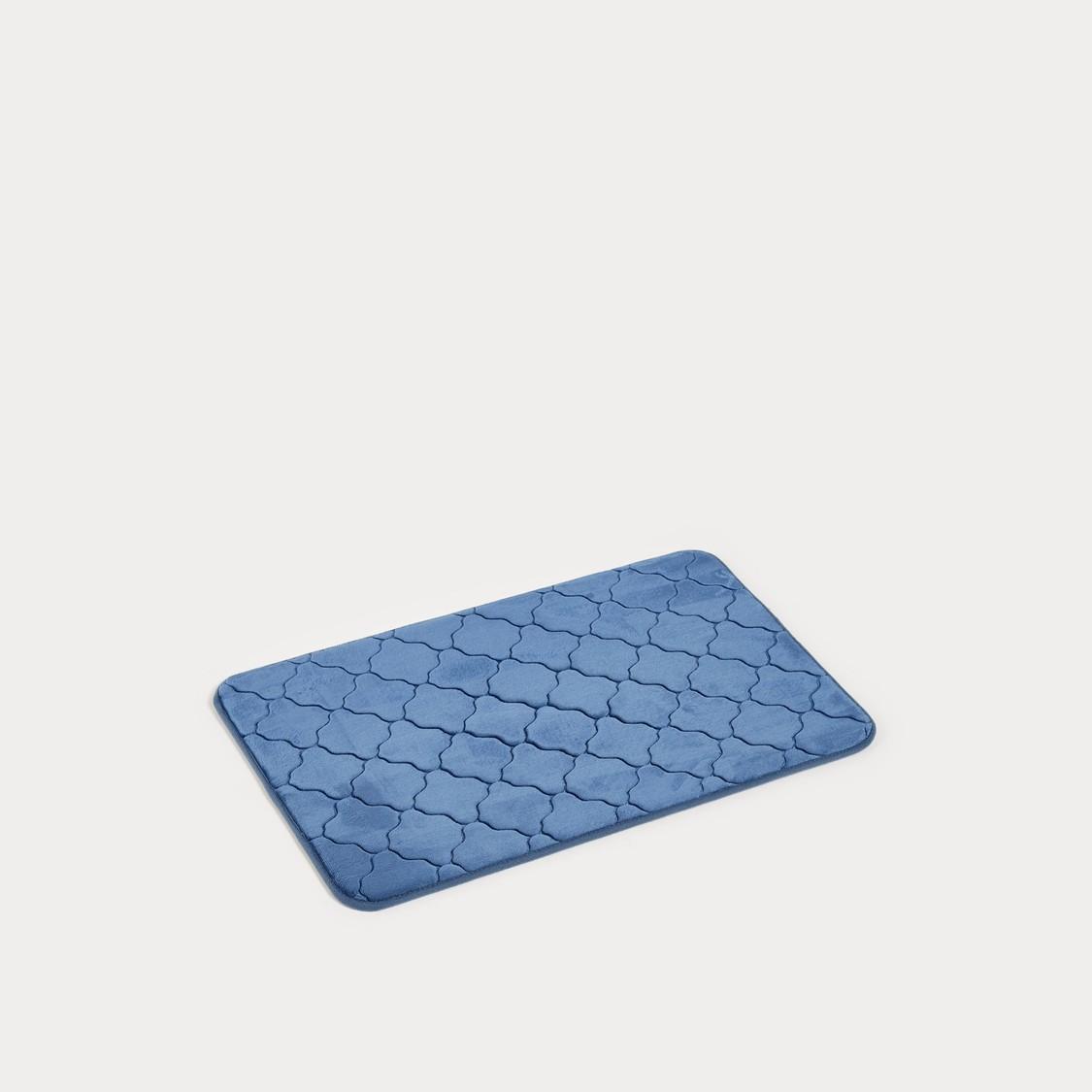 Textured Bath Mat - 70x45 cms