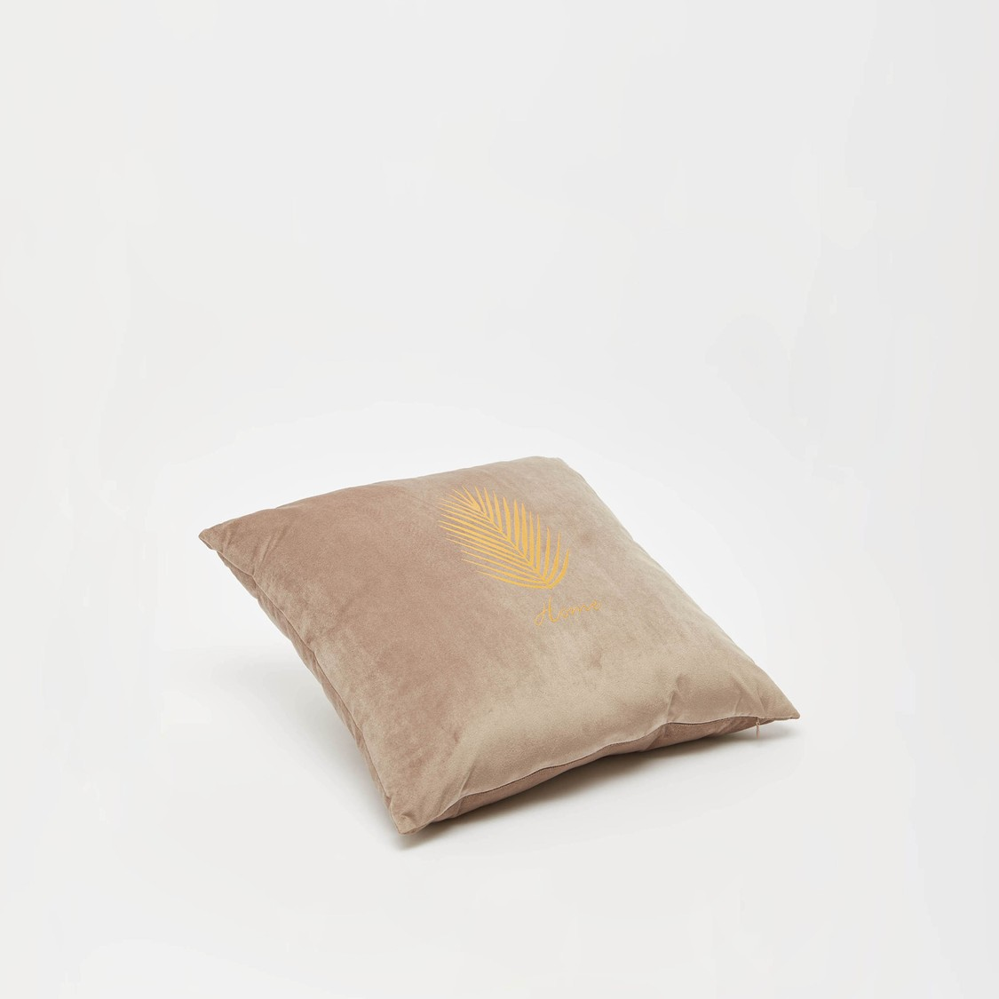 Printed Square Filled Cushion with Zip Closure - 45x45 cms