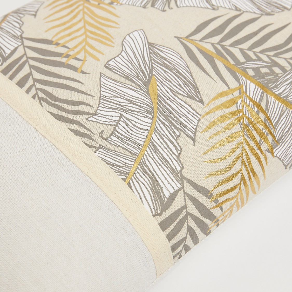 Printed Rectangular Filled Cushion - 50x30 cms