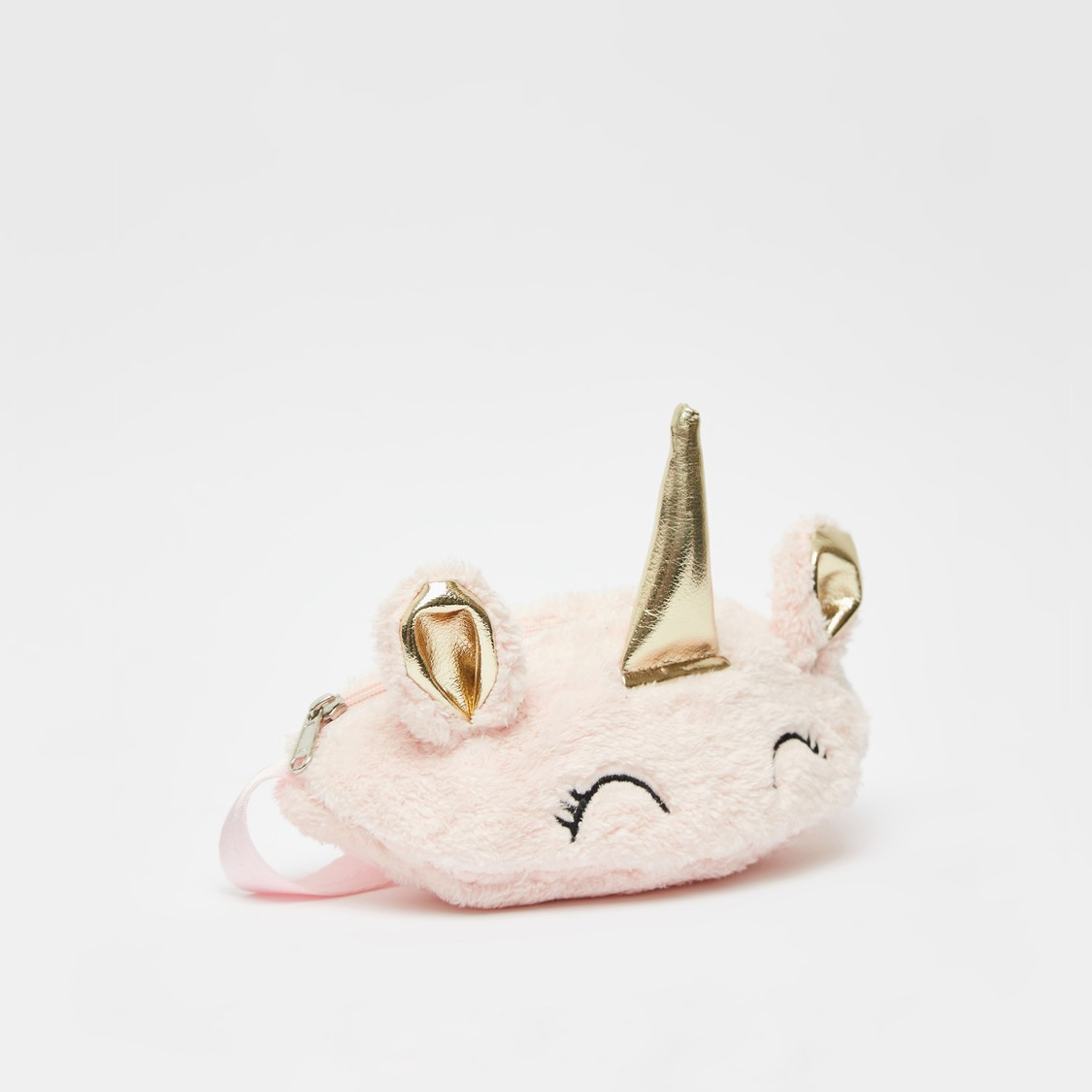 Unicorn Embroidered Waist Bag with Adjustable Strap