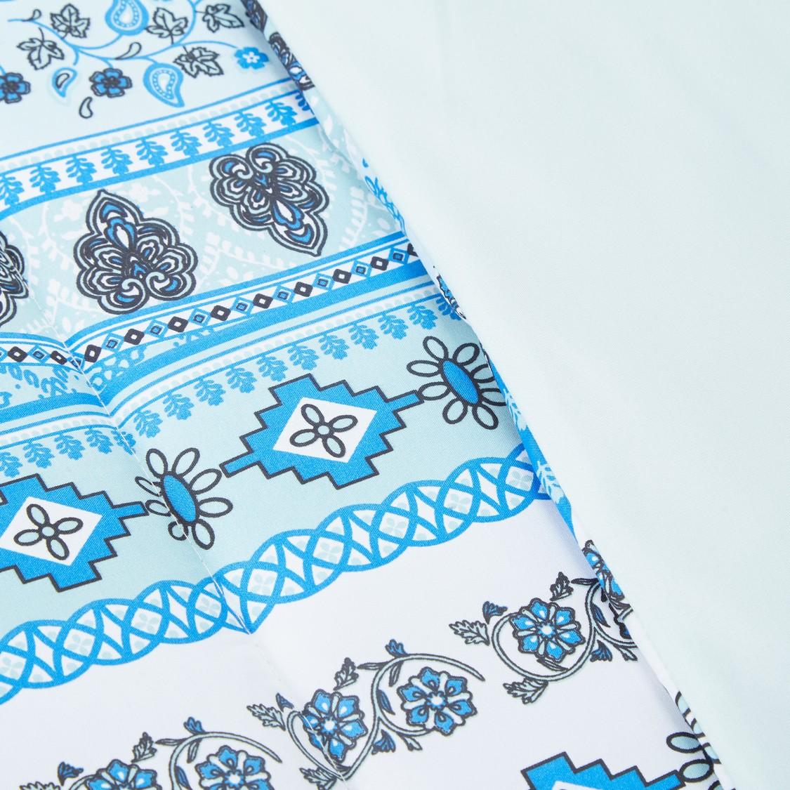 Printed 2-Piece Comforter Set - 160 x 220 cms