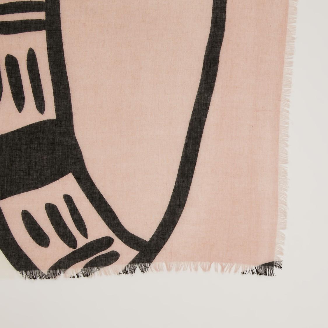 Printed Rectangular Scarf