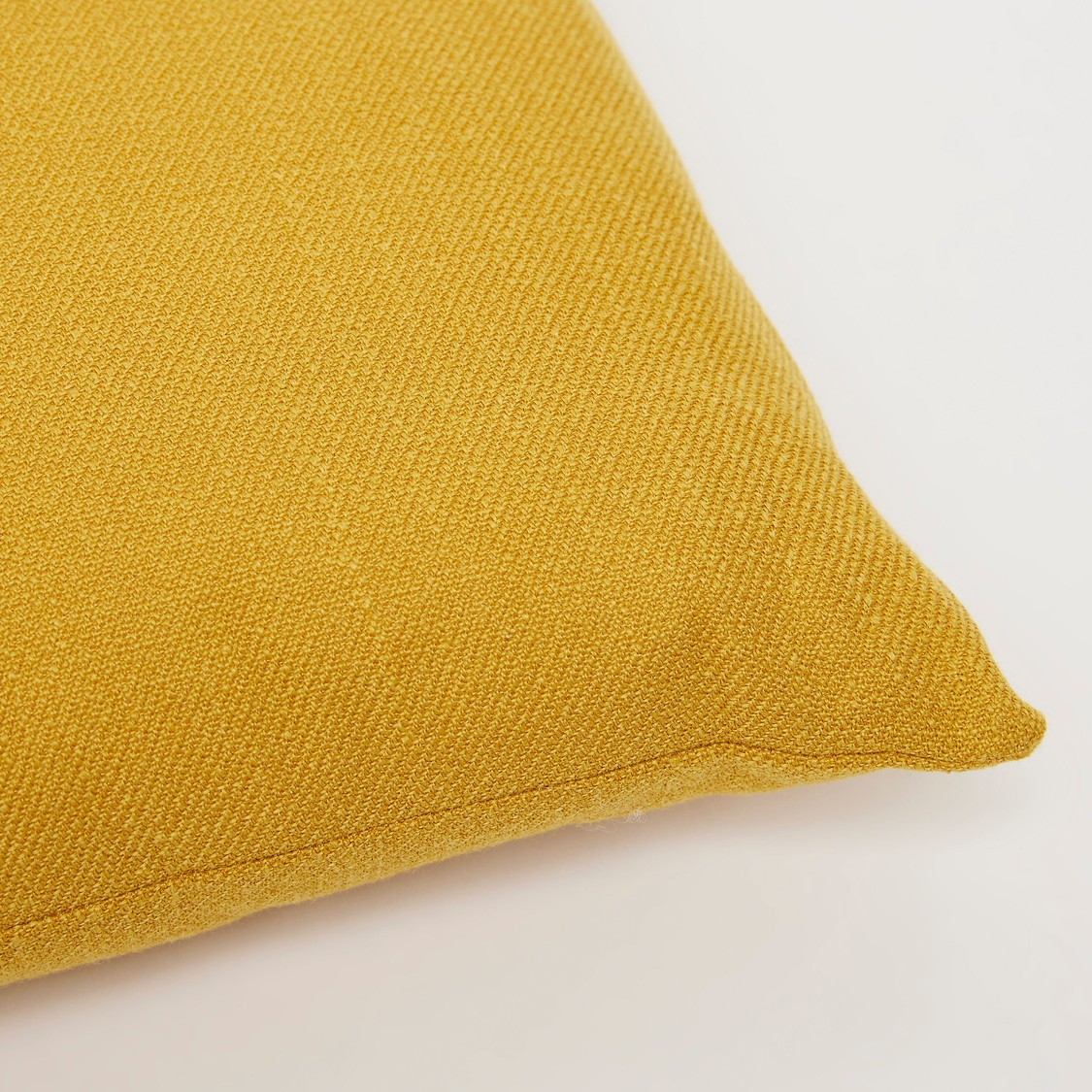 Solid Square Filled Cushion - 43x43 cms