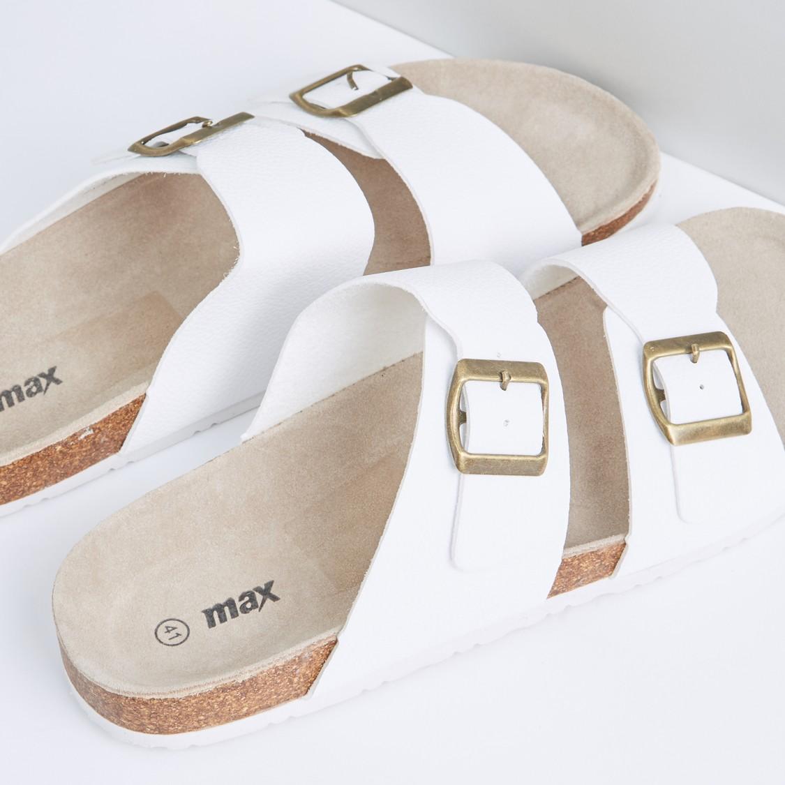 حذاء خفيف بارز الملمس بإبزيم