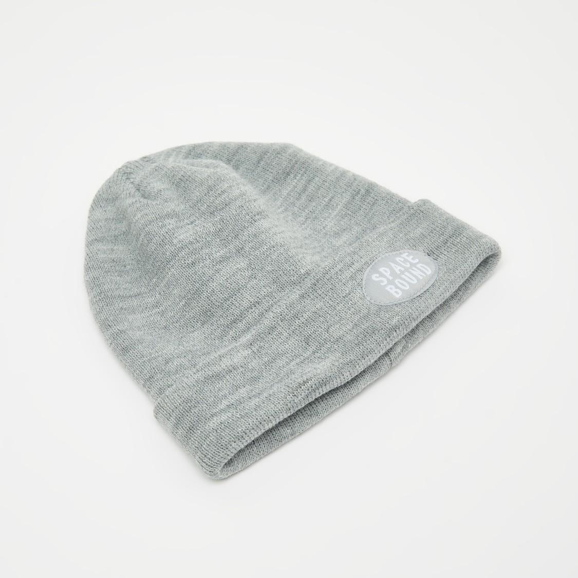 قبعة بيني سادة مزخرفة