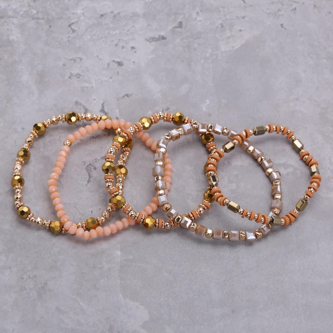 Beaded Bracelet - Set of 6