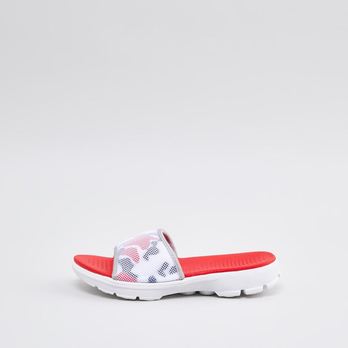 Textured Slides Slippers