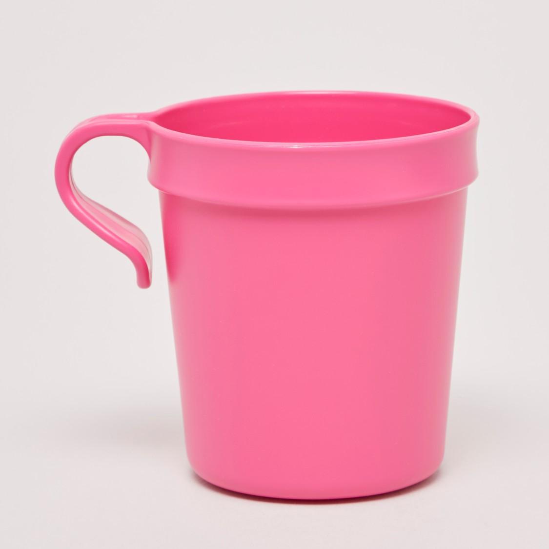Set of 6 - Solid Mug with Handle - 10x8x29 cms