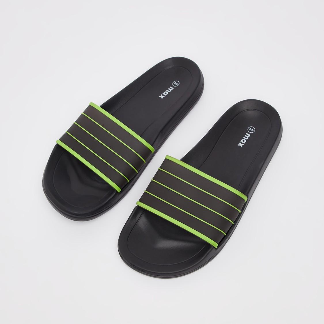 حذاء خفيف سادة سهل الارتداء وبحزام عريض