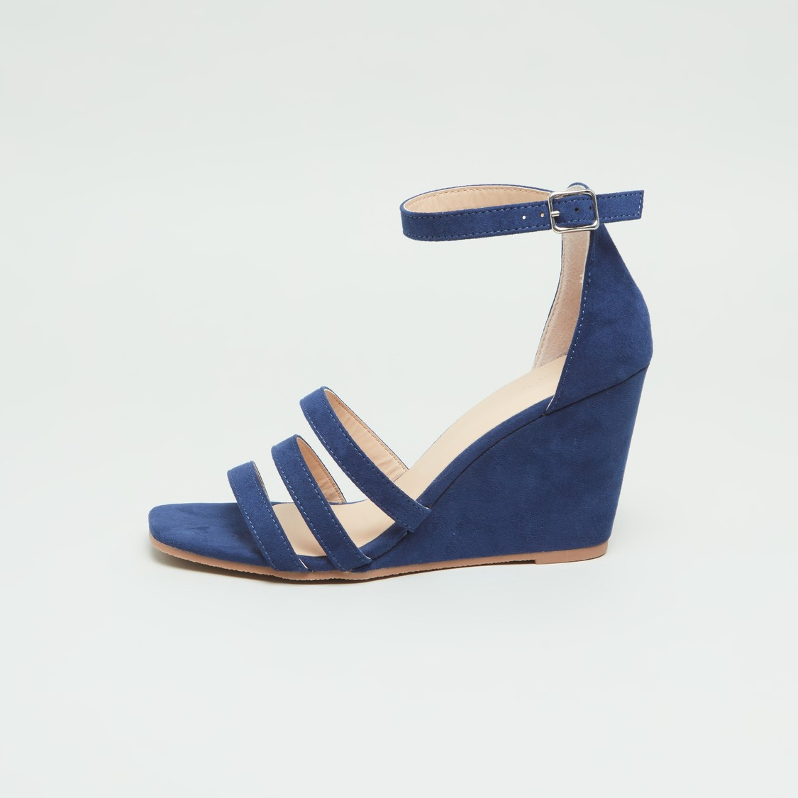 Ankle Strap Sandals with Wedge Heels