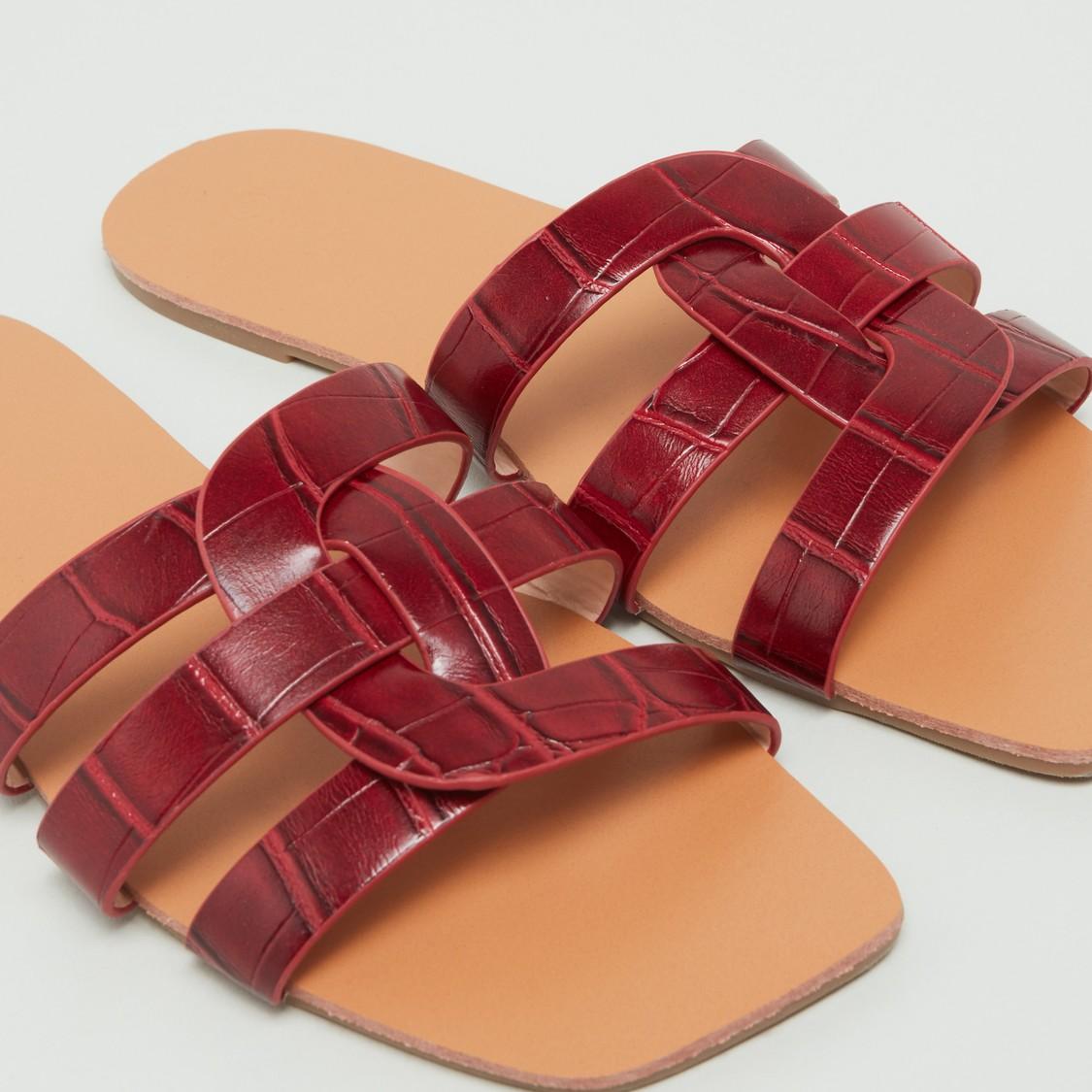Textured Strap Slides