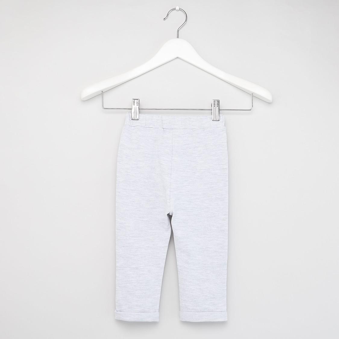 طقم ملابس بارزة الملمس - 3 قطع