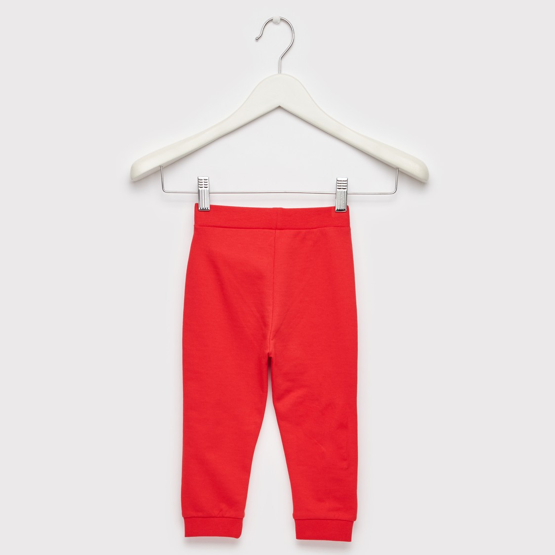Solid Joggers with Slip Pockets and Elasticated Drawstring Waist