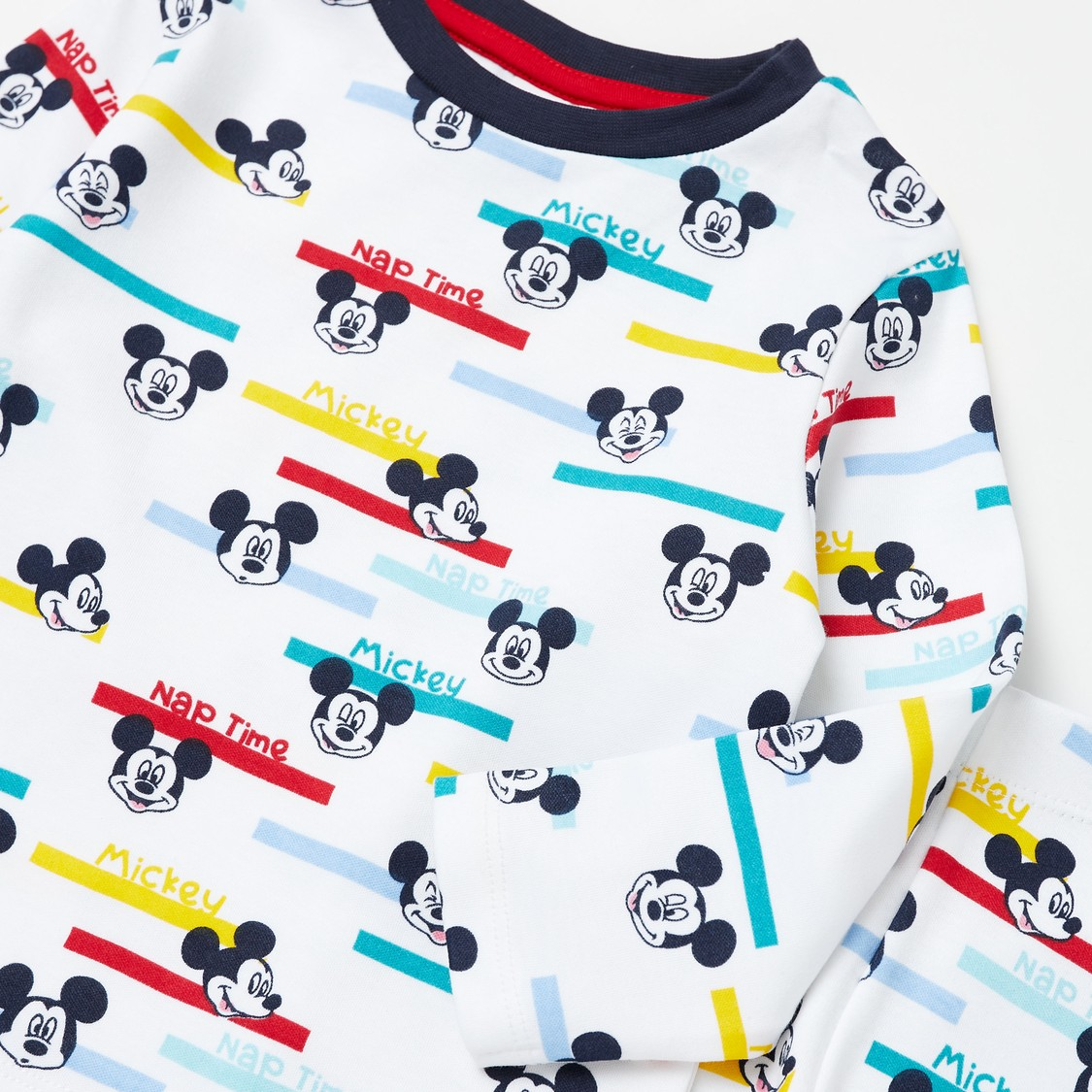 Mickey Mouse Placement Print T-shirt and Joggers Set