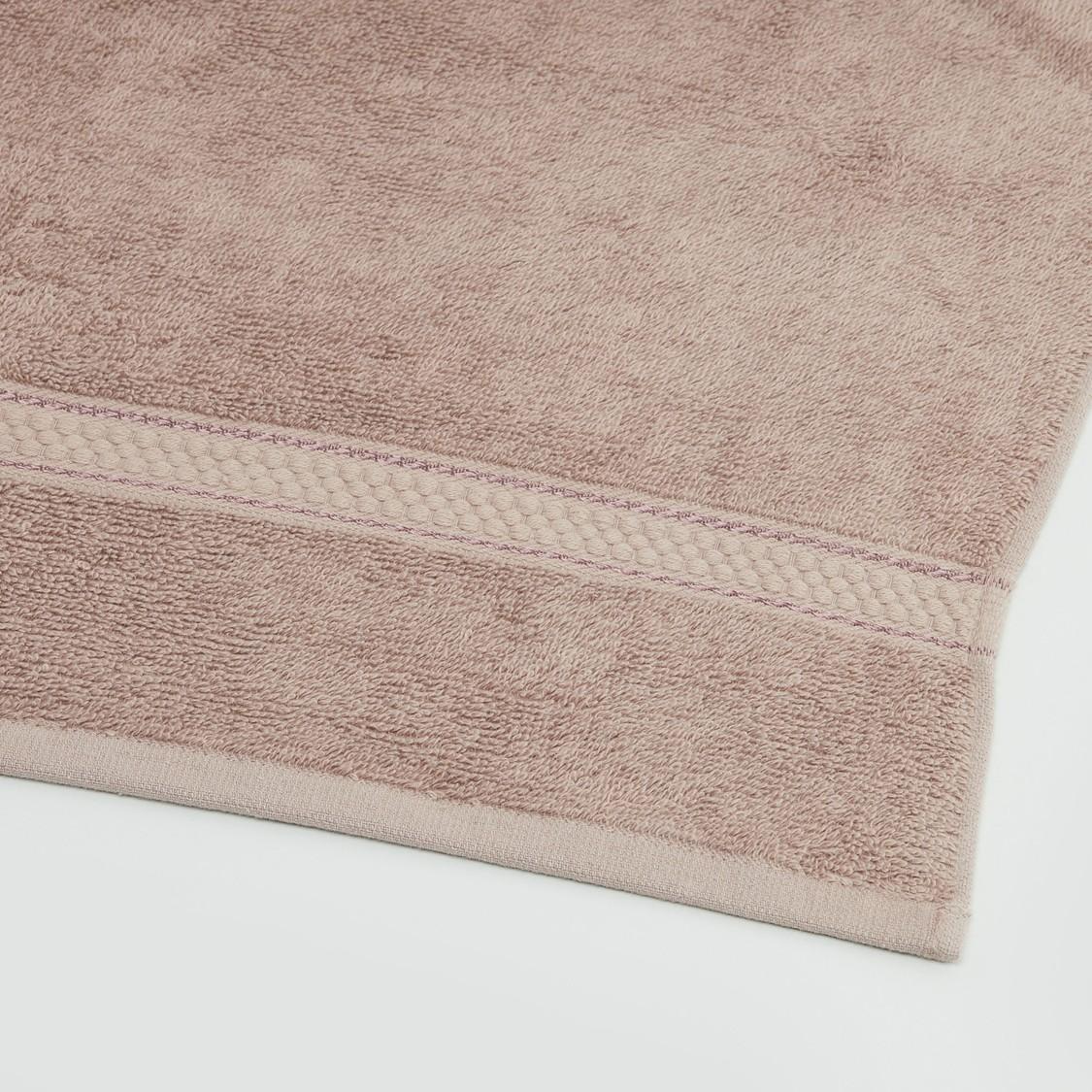 منشفة حمام كبيرة مستطيلة بارزة الملمس