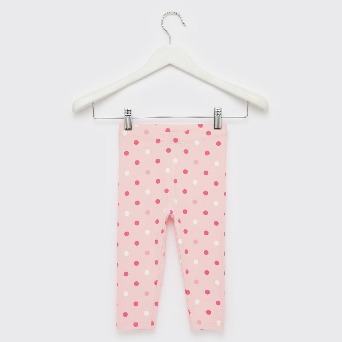 Polka Dots Print Leggings