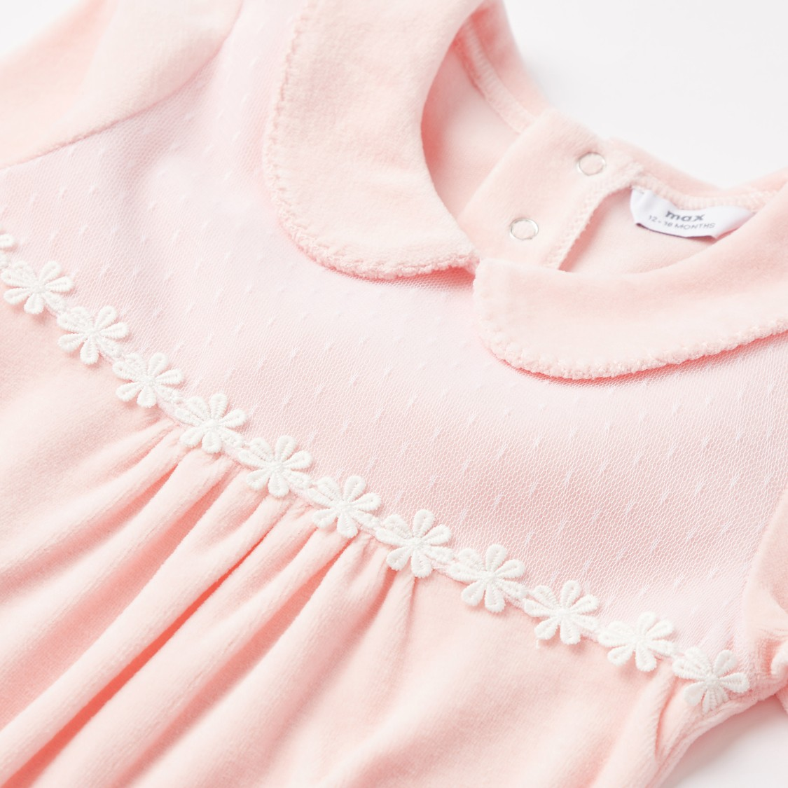 Textured Full Length Sleepsuit with Beanie Cap