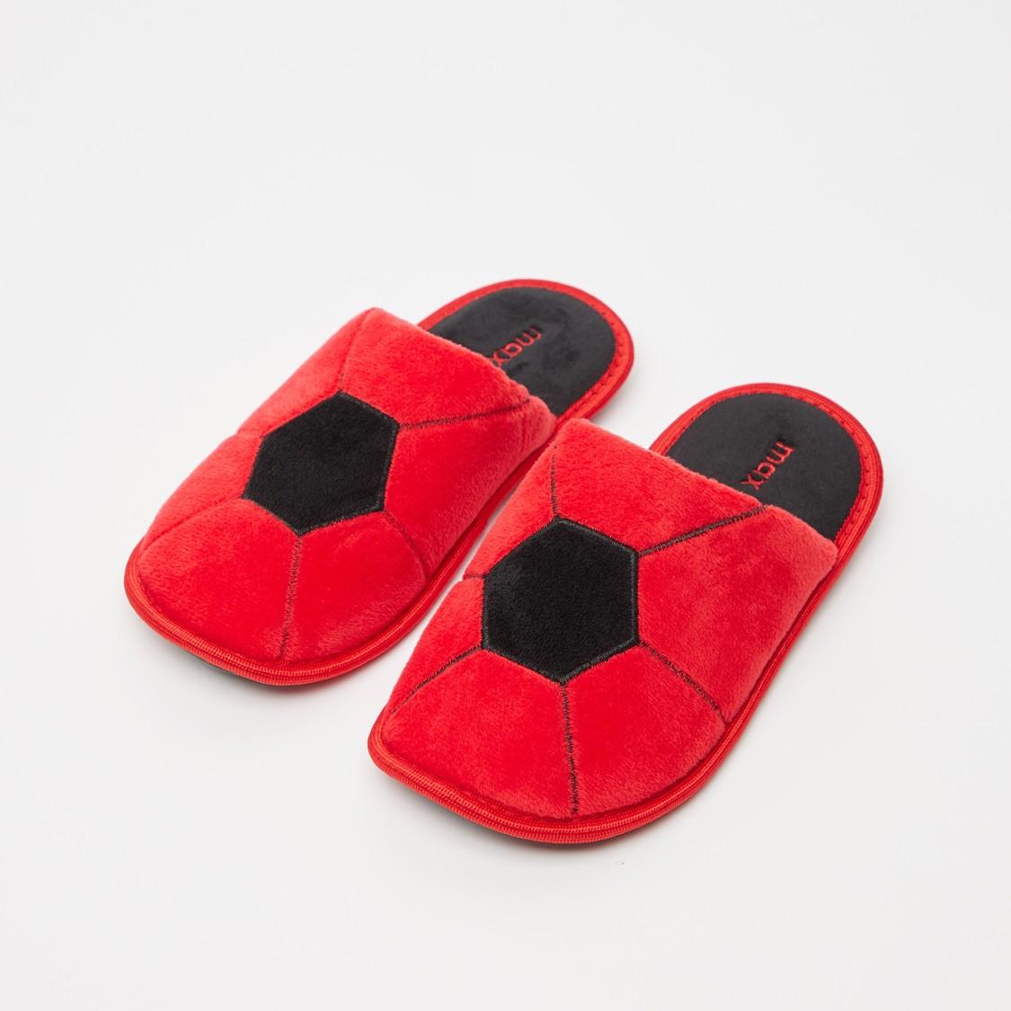 Football Themed Bedroom Slippers